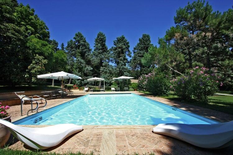 Italie | Marche | Villa te huur in Pesaro met zwembad  met wifi 10 personen
