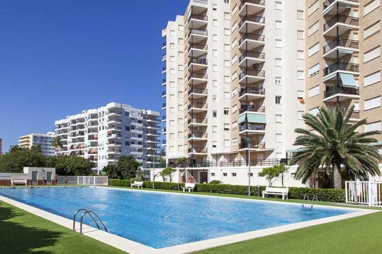 Costa Blanca Appartementen te huur Luxe appartement op 32 meter van Gandia Beach en prachtig uitzicht op zee