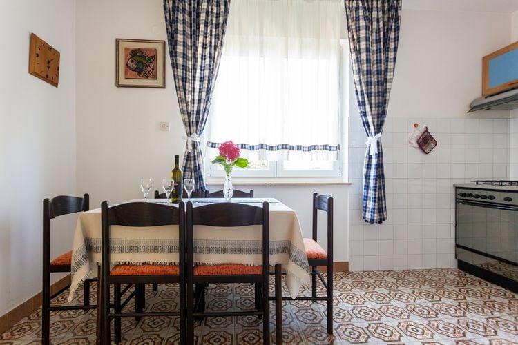 Appartement Kroatië, eld, Malinska Appartement HR-00006-31