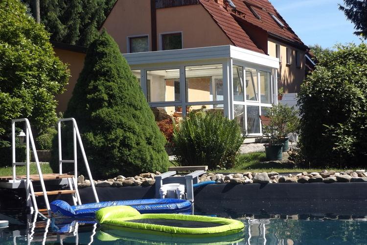 Comfortabele vakantiewoning met eigen terras in Pirna in Saksisch Zwitserland