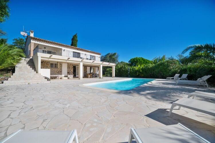 Vakantiehuizen Frankrijk | Provence-alpes-cote-d-azur | Villa te huur in Sainte-Maxime met zwembad  met wifi 8 personen