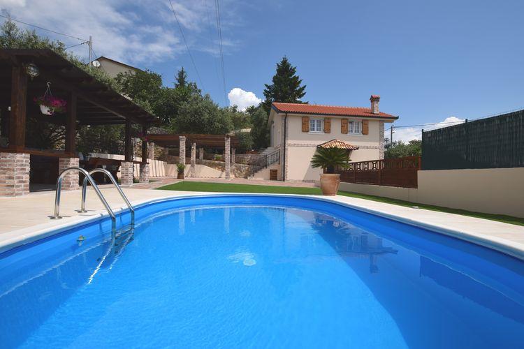 Vakantiehuis met zwembad met wifi  Ičići  Villa Oliva