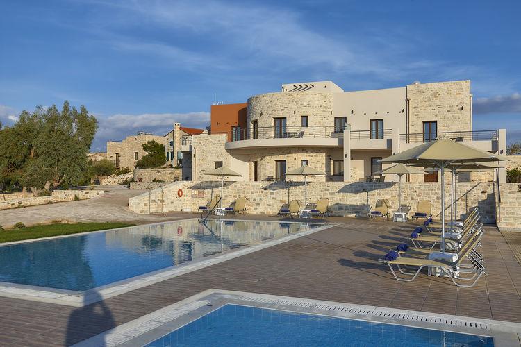 Villa met zwembad met wifi  KamilariOrelia Cretan Villa 2 persons