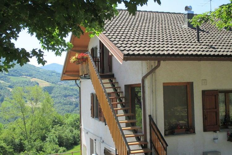 Appartement in een berglandschap, met een spectaculair uitzicht.