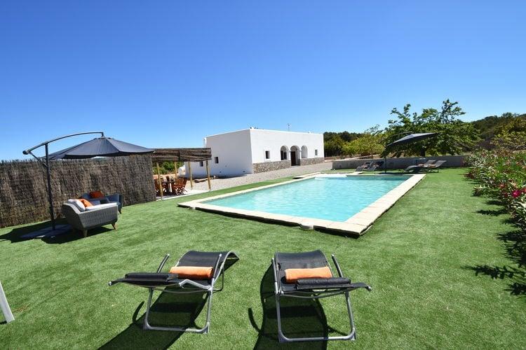 Vakantiehuizen Ibiza te huur San-Rafael- ES-07800-23 met zwembad  met wifi te huur