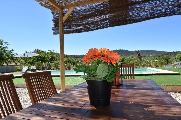 vakantiehuis Spanje, Ibiza, San Rafael vakantiehuis ES-07800-23
