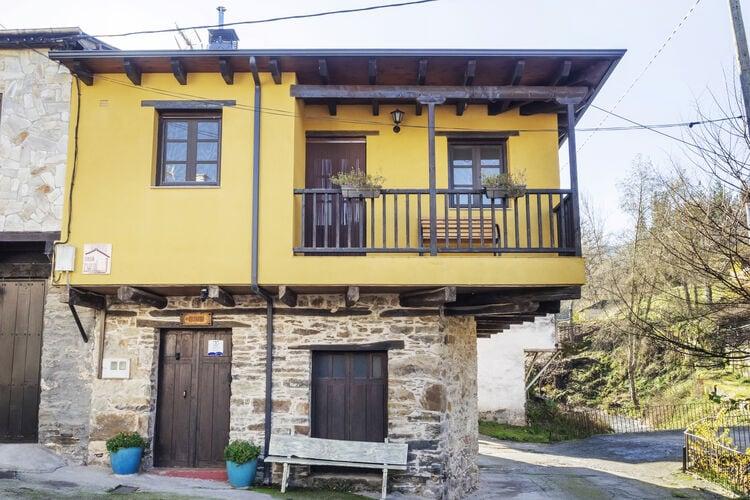 Spanje | Castilla-Y-Leon | Vakantiehuis te huur in Villanueva-de-Valdueza-Leon   met wifi 6 personen