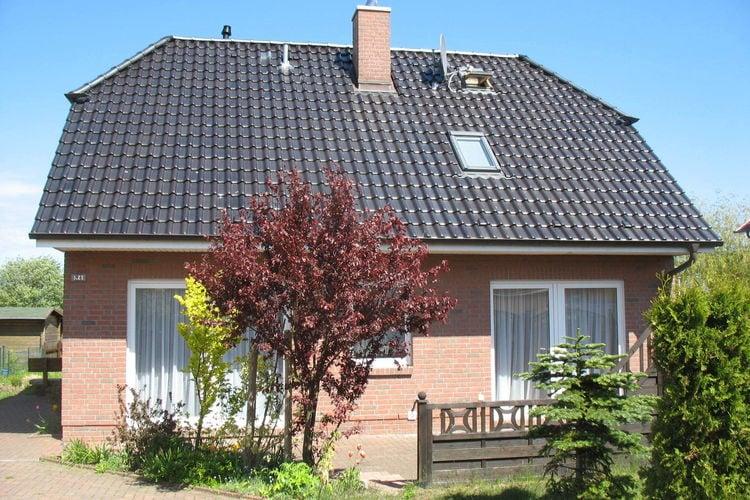 Duitsland | Ostsee | Vakantiehuis te huur in Dranske-auf-Rugen   met wifi 7 personen