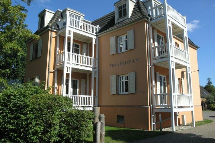 Duitsland Villas te huur Comfortabel ingericht, rustig gelegem appartement met balkon