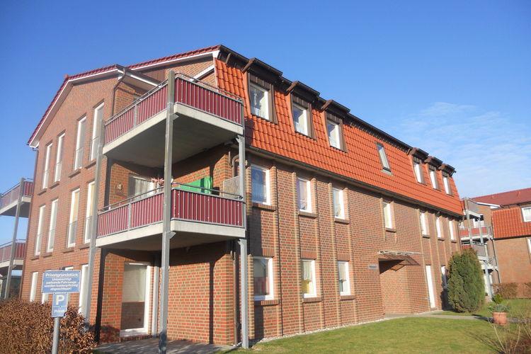 Appartement  met wifi  Boltenhagen (Ostseebad)  Licht, vriendelijk appartement met balkon in de buurt van het strand