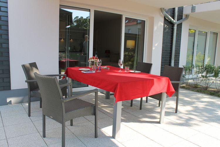 Appartement  met wifi  Rerik-OstseebadHummelflug am Meer mit Sonnenterrasse barrierefreundlich