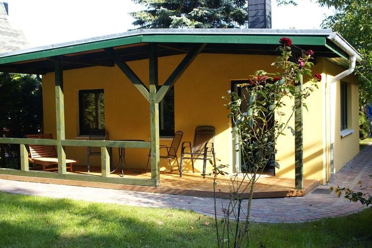 Bungalow  met wifi  Teßmannsdorf  Vakantiehuis met prachtige ligging direct bij het Küstenwald