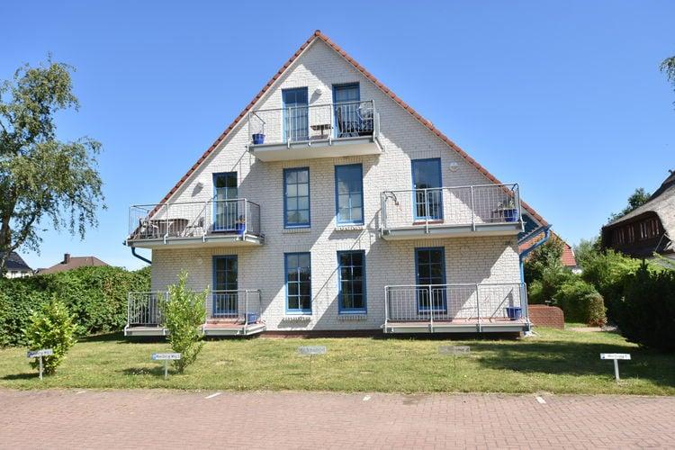 Duitsland | Ostsee | Appartement te huur in Borgerende   met wifi 6 personen