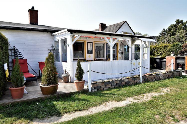 Duitsland | Ostsee | Bungalow te huur in Insel-Poel-OT-Fahrdorf   met wifi 3 personen