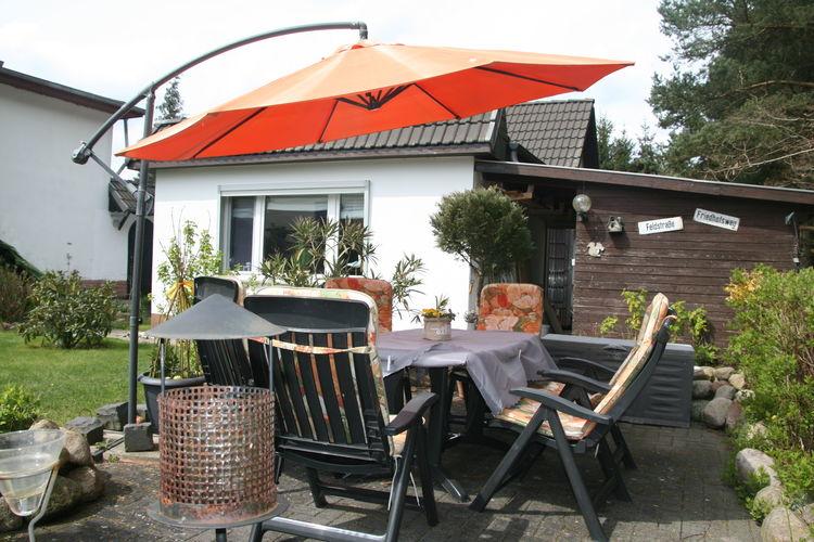 Duitsland | Ostsee | Bungalow te huur in Biendorf   met wifi 4 personen