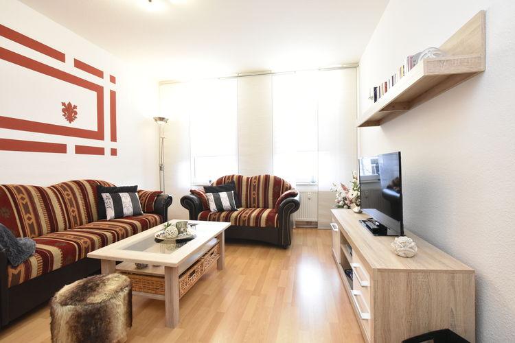 Appartement  met wifi  Kröpeliner-Tor-Vorstadt  Licht tweekamerappartement met klein balkon in het centrum van Rostock