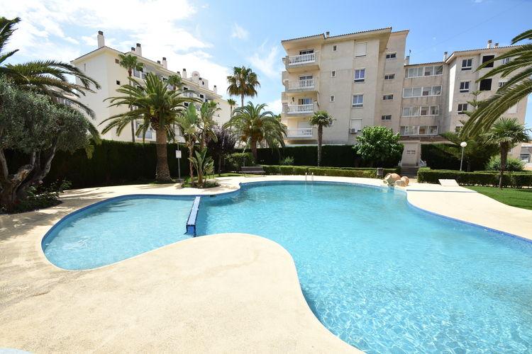 Appartement met zwembad met wifi  Costa BlancaCasa Manuel de Falle