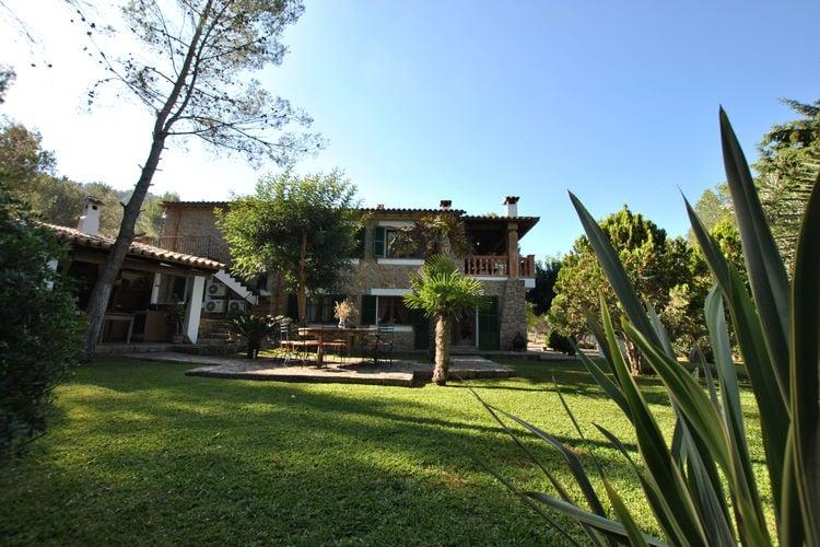 Spanje | Mallorca | Vakantiehuis te huur in Alaro met zwembad aan zee met wifi 12 personen