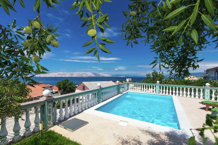 Appartement huren in  Kroatie - met zwembad  met wifi met zwembad voor 3 personen