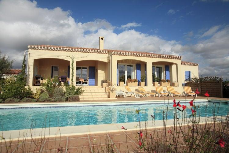 Villas Frankrijk | Languedoc-roussillon | Villa te huur in Escales met zwembad  met wifi 8 personen