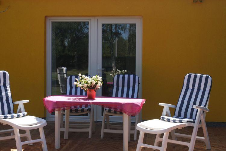 Vakantiehuis  met wifi  Pruchten  Muschelsucher mit Terrasse