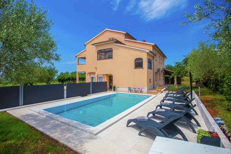 Vakantiehuizen Kroatie | Istrie | Appartement te huur in Sveti-Lovrec met zwembad  met wifi 8 personen