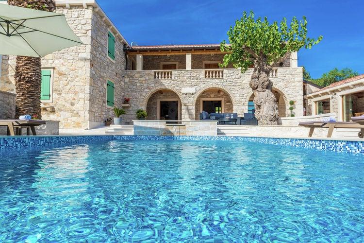 Villa Kroatië, Dalmatie, Sukosan Villa HR-00006-89