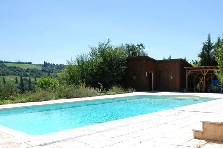 Frankrijk | Drome | Vakantiehuis te huur in Miribel met zwembad  met wifi 8 personen