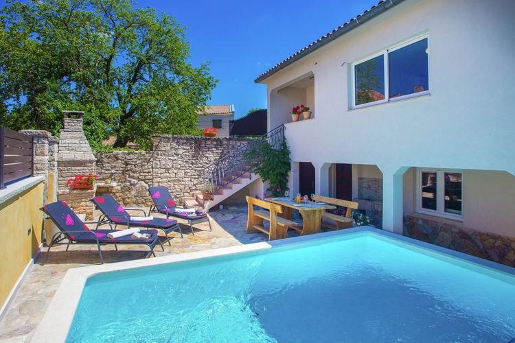 vakantiehuis Kroatië, Istrie, Mrgani vakantiehuis HR-52352-32