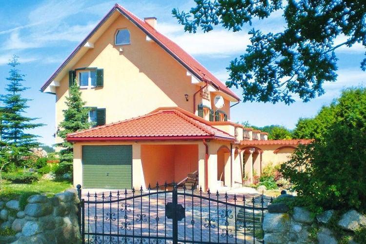 Polen | Pom | Vakantiehuis te huur in Yniewo-Sierakowickie   met wifi 5 personen