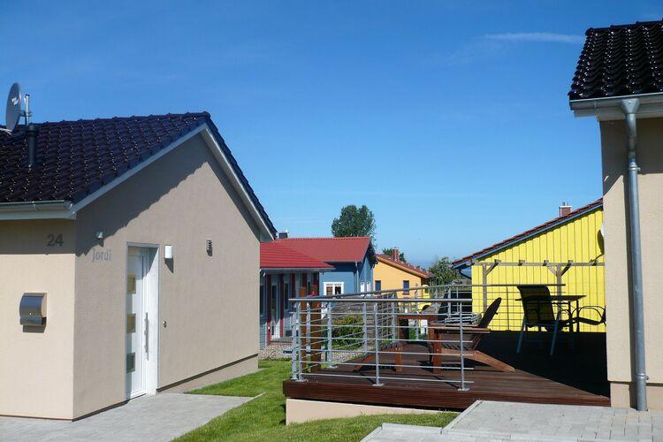 Vakantiehuis  met wifi  Ostseestrandnahes Ferienhaus am Salzhaff Jordi & Jona