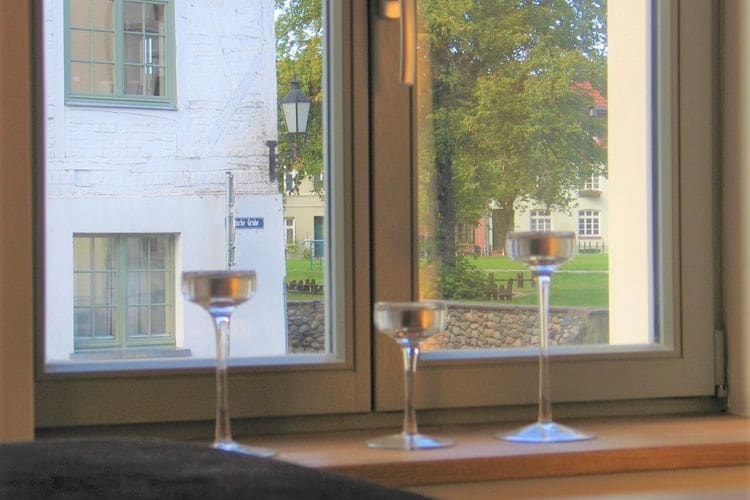 Appartement  met wifi  WismarKomfortable Ferienwohnung in alter Stadtvilla Luv