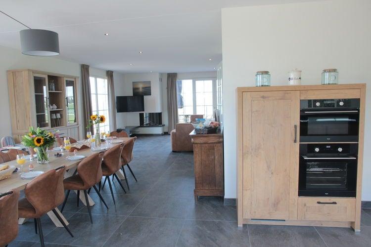 vakantiehuis Nederland, Zeeland, Cadzand dorp vakantiehuis NL-0012-62