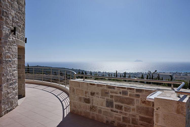 Appartement met zwembad met wifi  KamilariOrelia Cretan Apartment I
