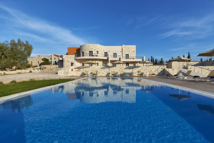 Griekenland | Kreta | Appartement te huur in Kamilari met zwembad  met wifi 4 personen