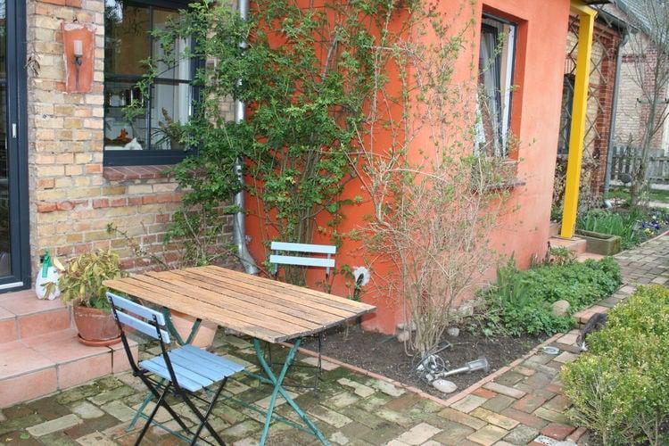 Appartement  met wifi  LischowFerienwohnung mit kleiner Gartenecke Haustier erlaubt