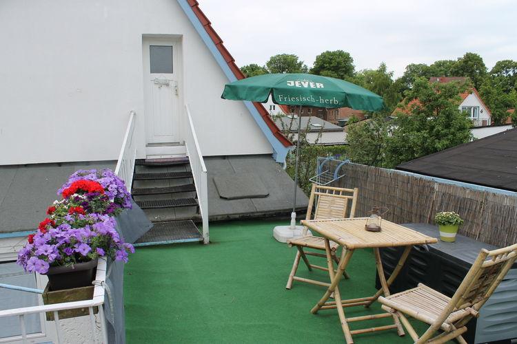 Appartement  met wifi  Warnemünde  Altes Kapitänshaus - Dachterrassenwohnung