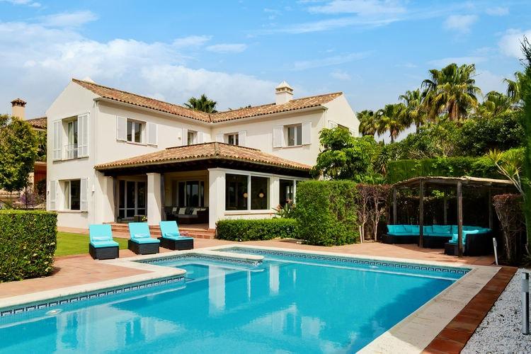 Vakantiehuizen Spanje | Costa-del-Sol | Villa te huur in Sotogrande met zwembad  met wifi 9 personen