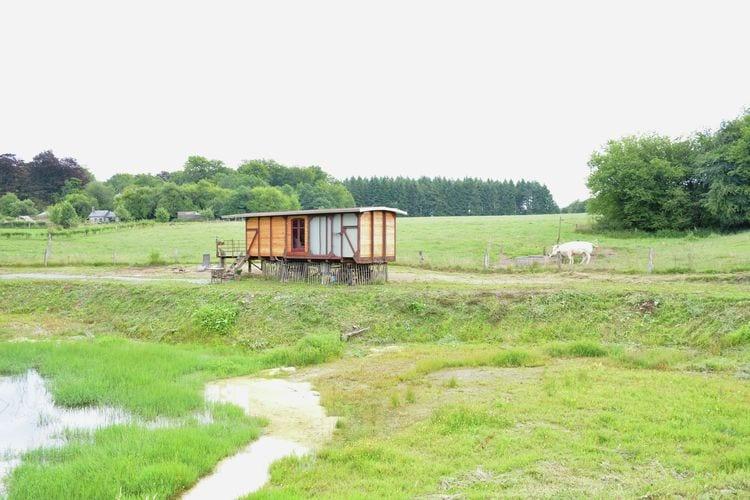 Vakantiewoning België, Namen, Bièvre Sta caravan BE-0007-92