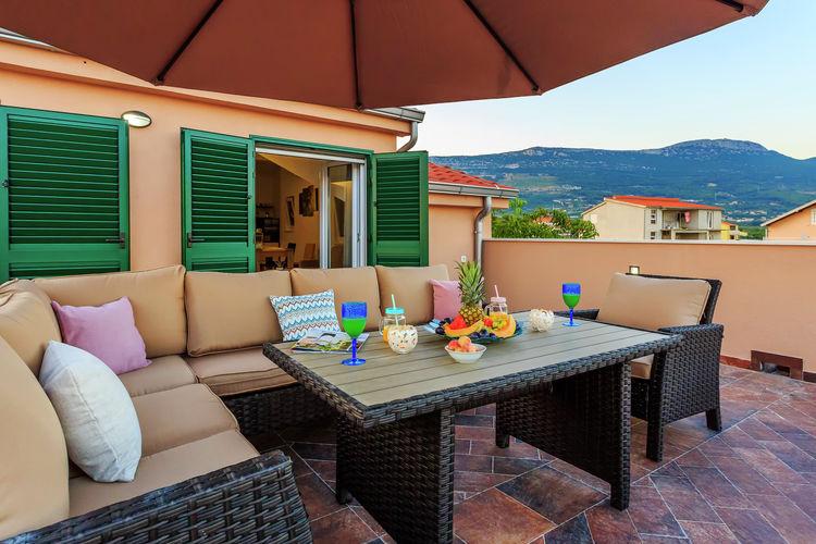 Villa Kroatië, Dalmatie, Kaštel Novi Villa HR-21216-13