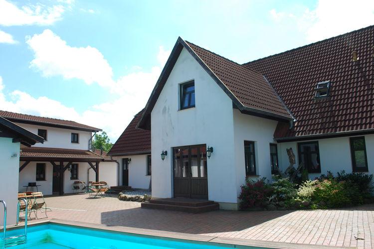 Appartement met zwembad met wifi  Barlin  Die Familienwohnung Usedom
