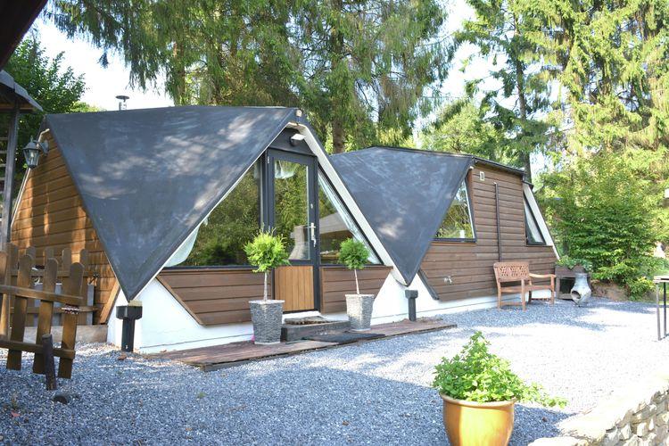 Belgie Chalets te huur Ongebruikelijk hut in het bos, zeer comfortabel, mooie overdekt terras, rustig