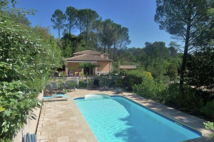 Lorgues Vakantiewoningen te huur Een boomhut voor de kinderen en voor u een fijn vakantiehuis met privé-zwembad!