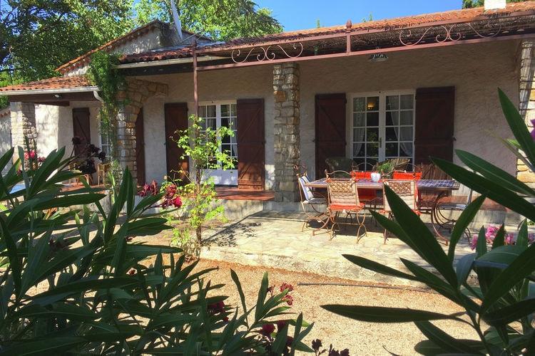 Vakantiehuizen Frankrijk | Provence-alpes-cote-d-azur | Vakantiehuis te huur in Lorgues met zwembad  met wifi 6 personen