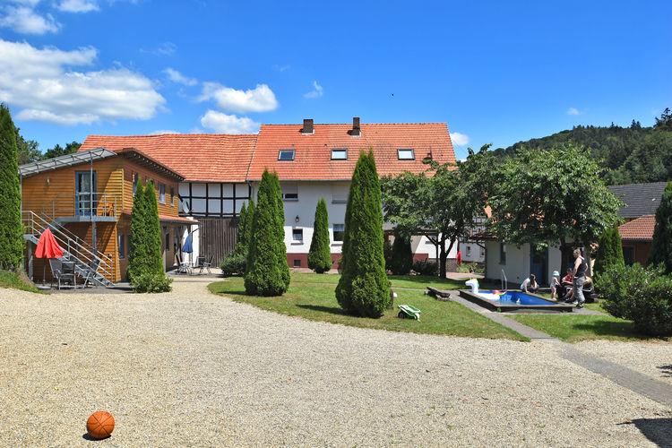 Appartement  met wifi  Bad-WildungenAm Ferienbauernhof - FW 1 und 5