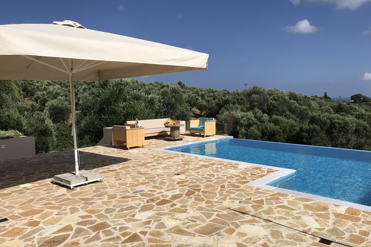 Villa griekenland, Peloponnesos, Kamaria Villa GR-24006-07