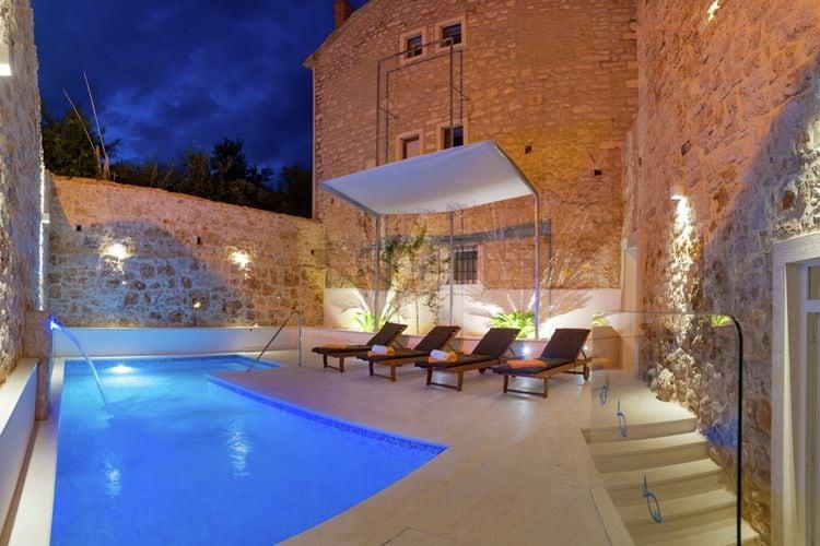 Kroatie | Eld | Villa te huur in Bol met zwembad  met wifi 12 personen