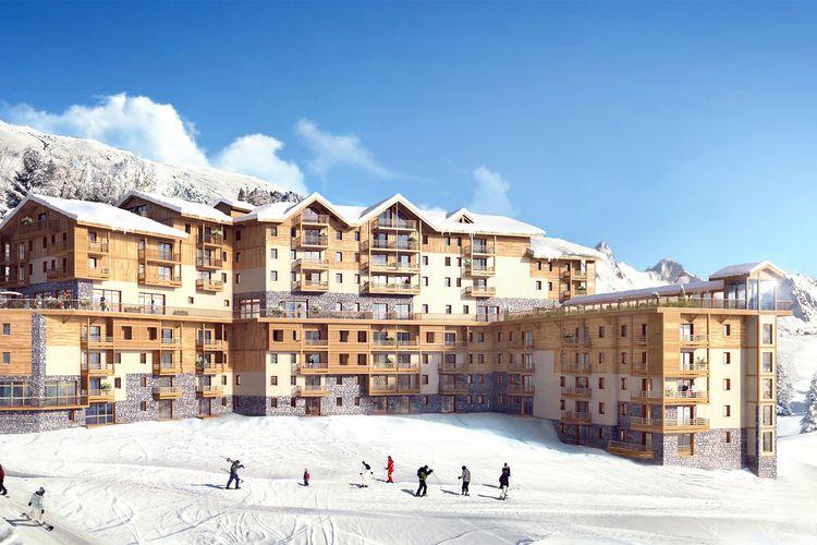 Les-Menuires Vakantiewoningen te huur Mooie, comfortabele résidence met Spa aan de piste in Les Menuires