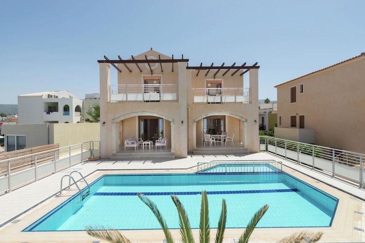 Villa met zwembad met wifi  PerivoliaVilla Avra