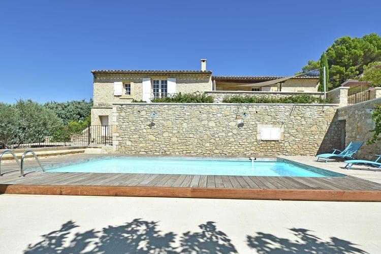Vakantiehuizen Frankrijk | Provence-alpes-cote-d-azur | Villa te huur in Roussillon met zwembad  met wifi 8 personen